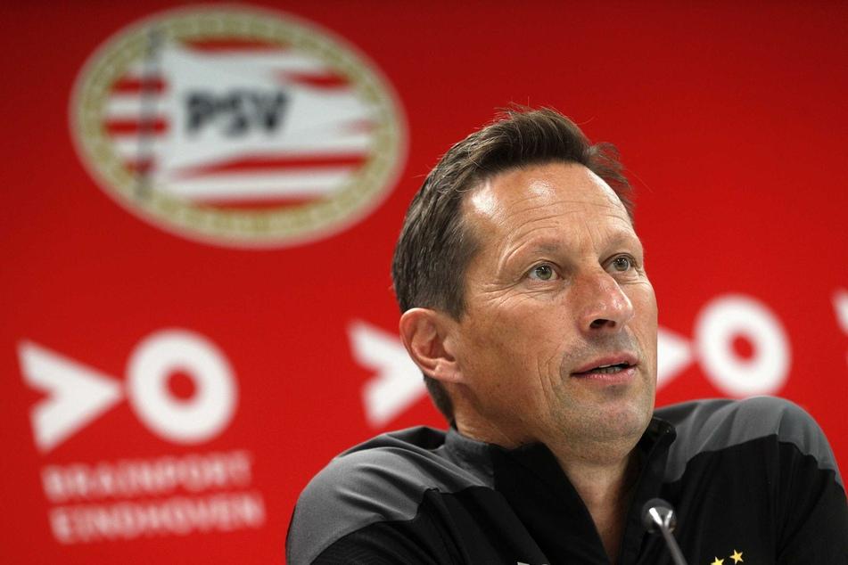 Auch PSV-Coach Roger Schmidt (54) dürfte mit der Ausgangslage fürs Rückspiel zufrieden sein.