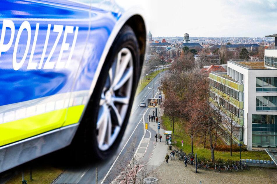 Einbrüche in Gebäude der TU Dresden: Polizei durchsucht Wohnung von 36-Jährigem