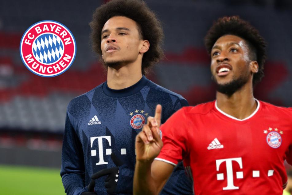 Schwierigkeiten von Sané beim FC Bayern: Kollege Coman hat die Erklärung