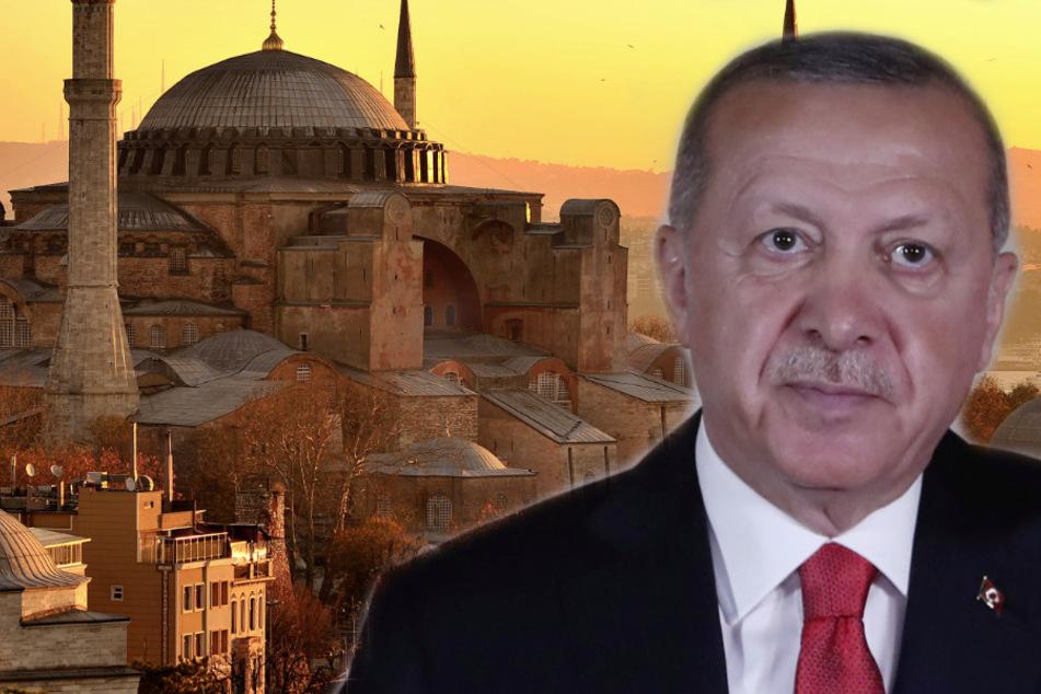 Nach Jahren als Museum: Eröffnung der Hagia Sophia als Moschee in zwei Wochen