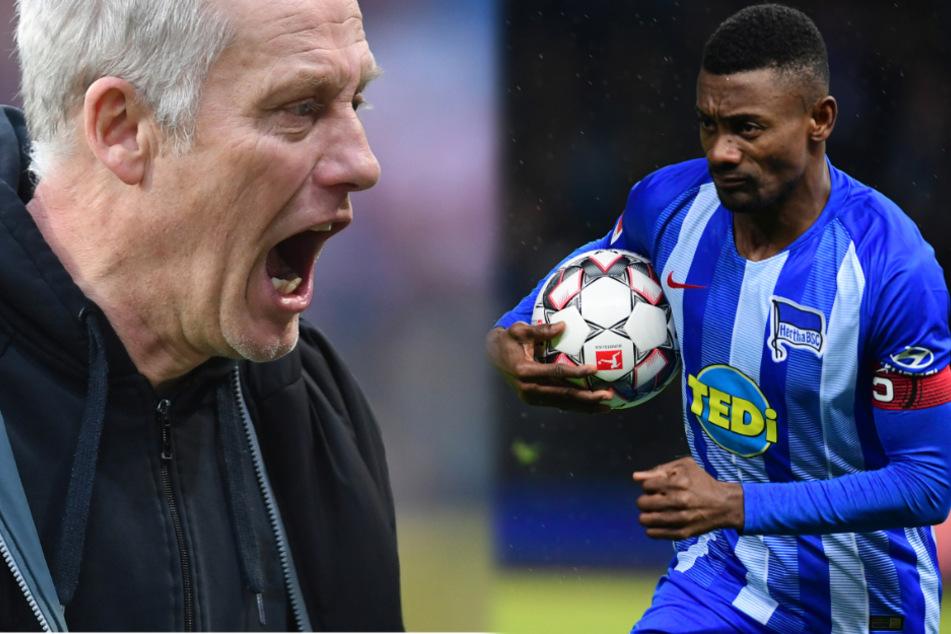 """Freiburg-Coach Streich knöpft sich Kalou vor: """"Katastrophal und extrem naiv"""""""