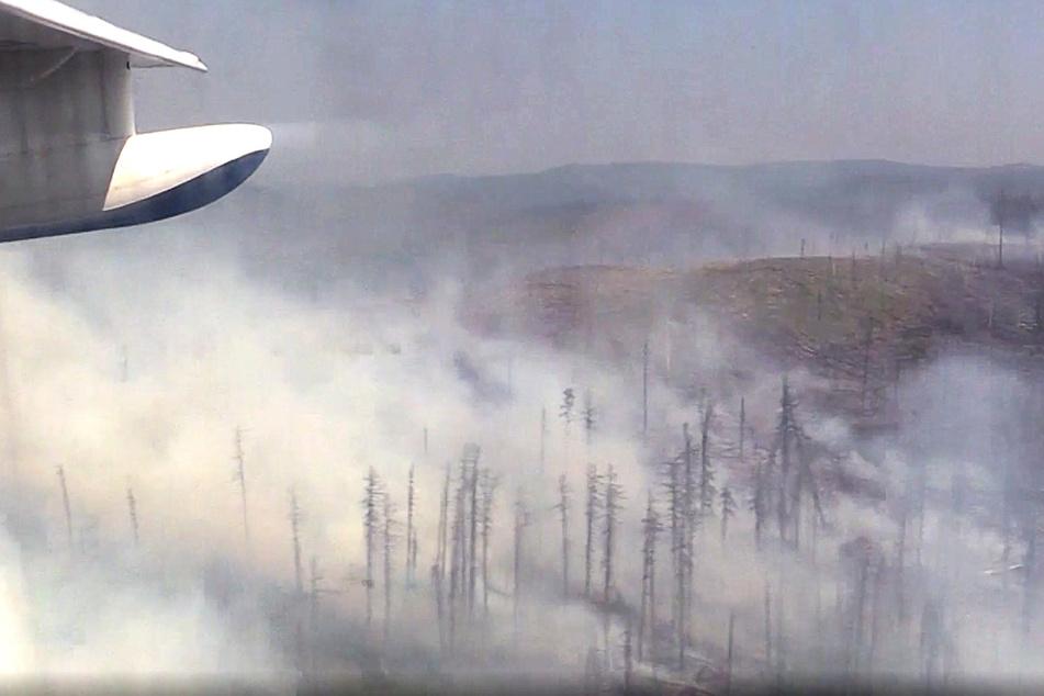 Waldbrände breiten sich aus: Ausnahme-Zustand ausgerufen!