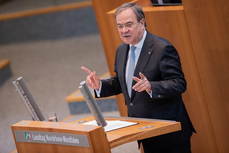 NRW-Ministerpräsident Armin Laschet (60, CDU) hat sich gegen Alleingänge der Bundesländer beim russischen Impfstoff Sputnik V ausgesprochen. (Archivfoto)