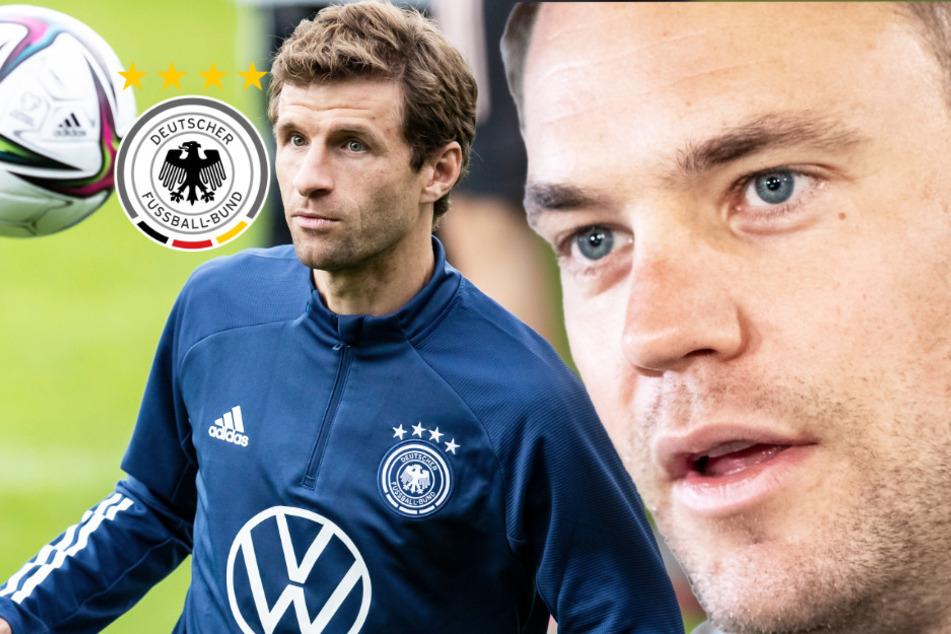 Bittere Pille beim DFB-Debüt von Flick: Neuer und Müller verletzt!