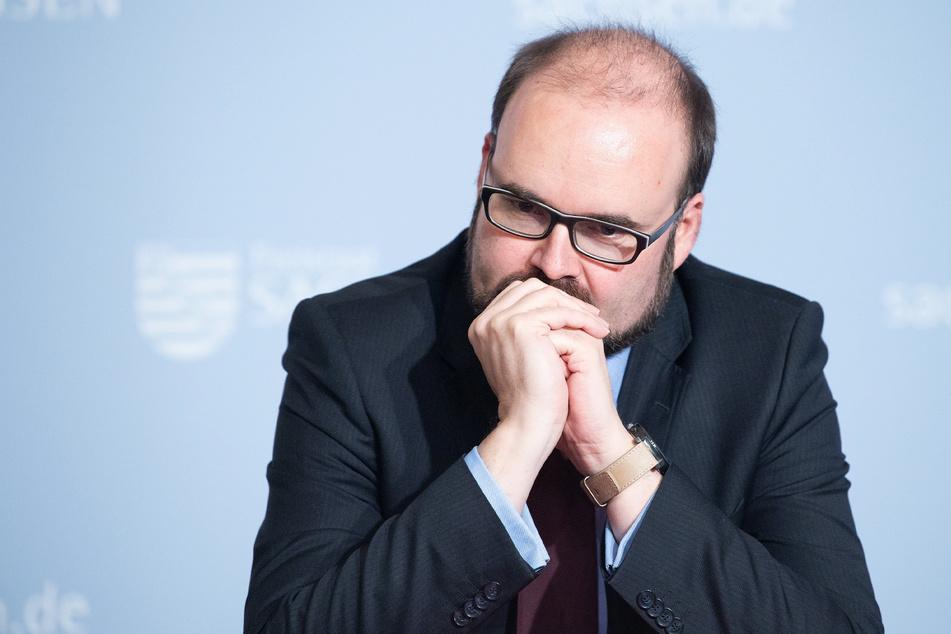 Schulminister Christian Piwarz (45, CDU).