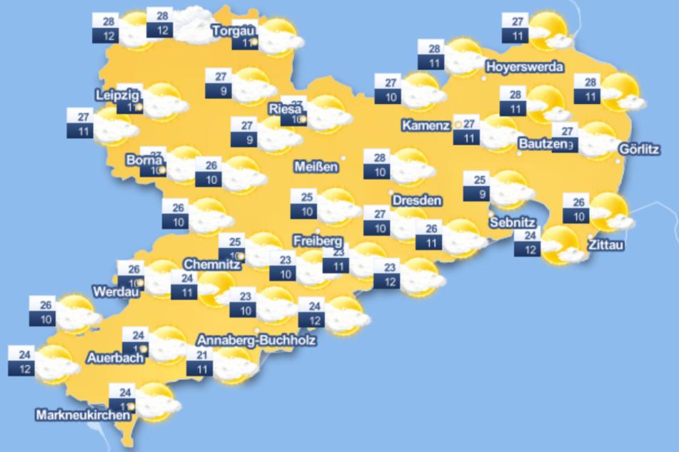 Das Wetter am Wochenende soll wechselhaft werden, bevor nächste Woche hoffentlich der Sommer zurückkommt.
