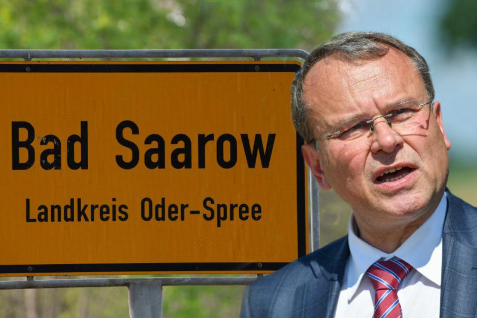 """Landrat schließt """"Reichsbürger""""-Gaststätte in Bad Saarow"""