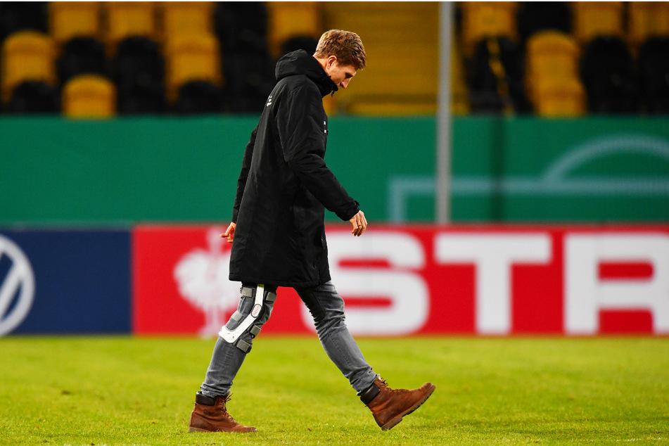 Zeit, zu gehen: Für Marco Hartmann (33) endet heute das Kapitel Dynamo Dresden. Zumindest als Spieler.