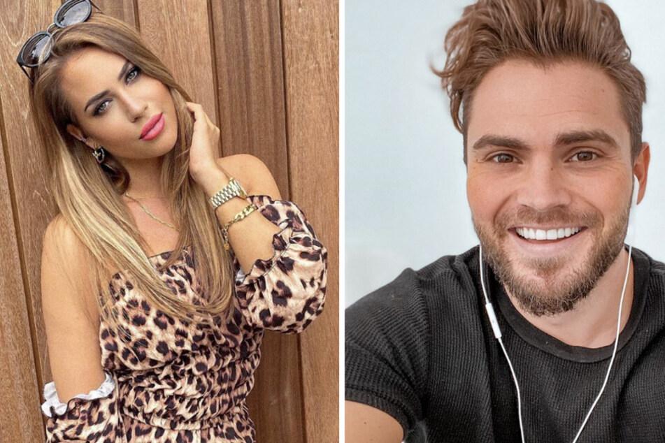 Sind Johannes Haller (r) und Jessica Paszka (l) ein Paar?
