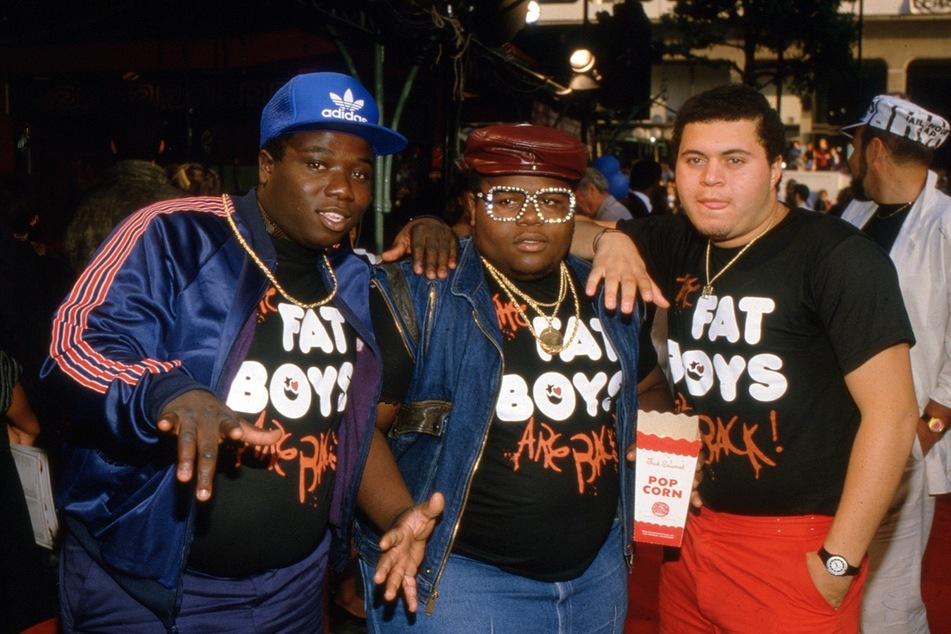 """Mark Anthony """"Prince Markie Dee"""" Morales (†52, r) wurde mit der Band The Fat Boys in den 80er Jahren weltweit bekannt."""