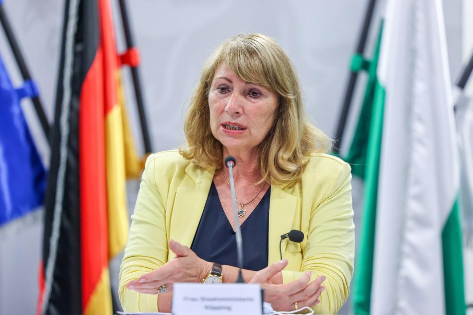Petra Köpping (62, SPD) stellte am Mittwoch die neuen Corona-Regeln für Sachsen vor. (Archivbild)