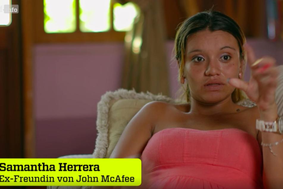 """Samantha Herrera sagt: """"Er mochte Fäkal-Sex, aber ich mochte das nicht."""""""