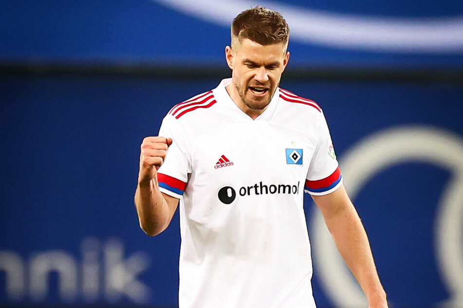 HSV-Knipser Simon Terodde traf zum 1:1-Ausgleich gegen Holstein Kiel - das 20. Saisontor der Tormaschine.