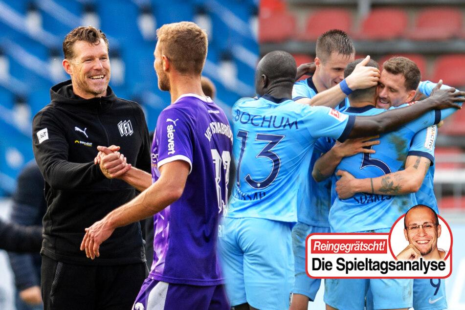 Der VfL Osnabrück (l.) und VfL Bochum sind überraschend gut in die Saison gestartet. Das hat aber natürlich auch Gründe, meint TAG24-Fußballredakteur Stefan Bröhl.