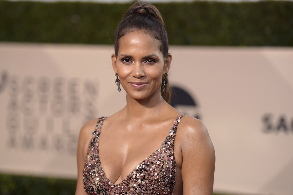 Halle Berry finally tells us who her new guy is.