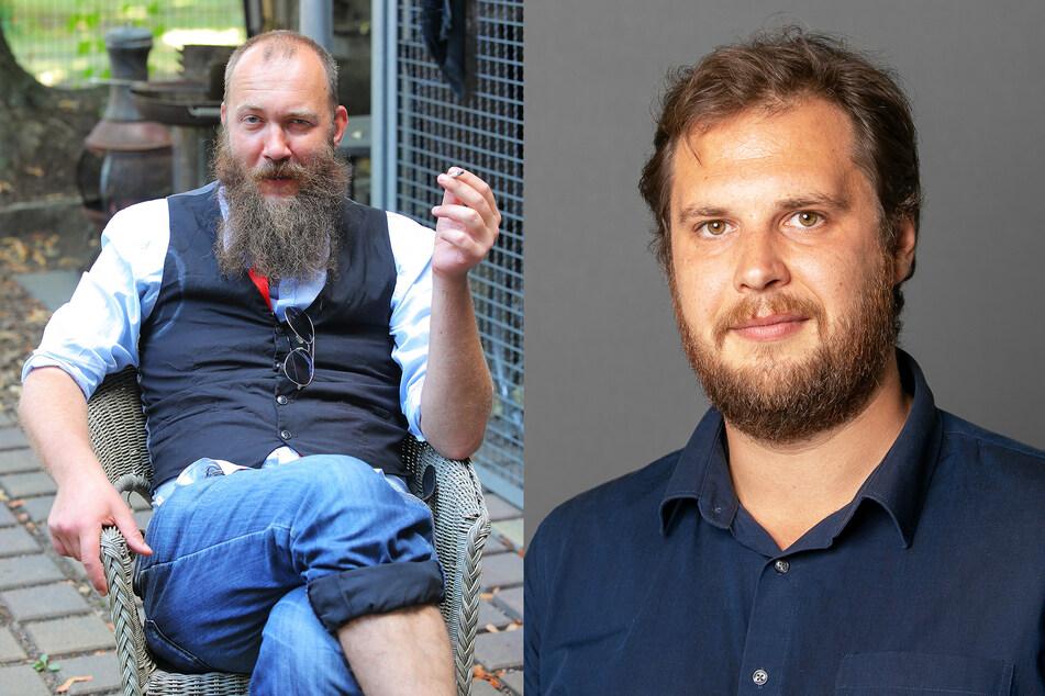 V.l.:Max Aschenbach (35, Die PARTEI) und Vincent Drews (32, SPD).