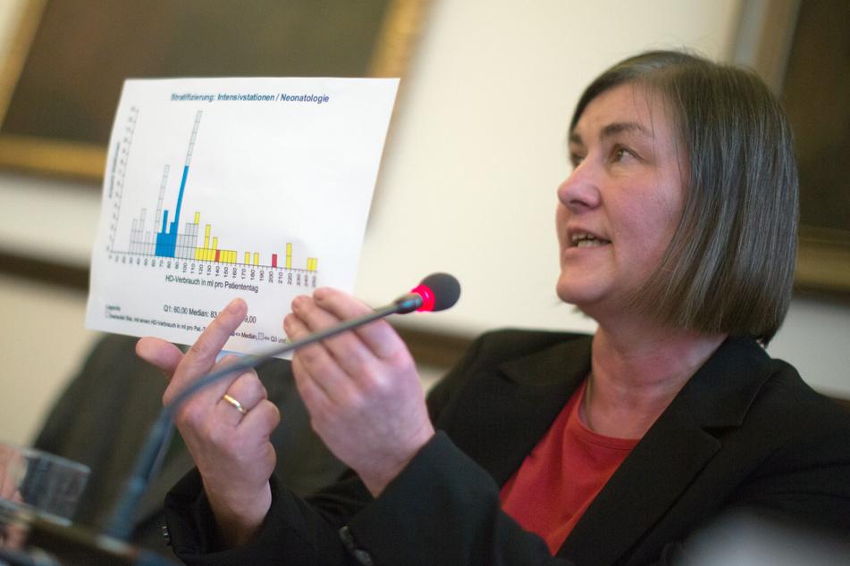 Petra Gastmeier (63), Leiterin des Instituts für Hygiene an der Charite.