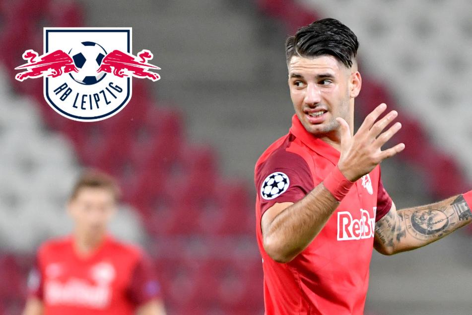 """RB Leipzigs Szoboszlai: Nach Tritt in den Hintern endlich """"Licht am Ende des Tunnels"""""""