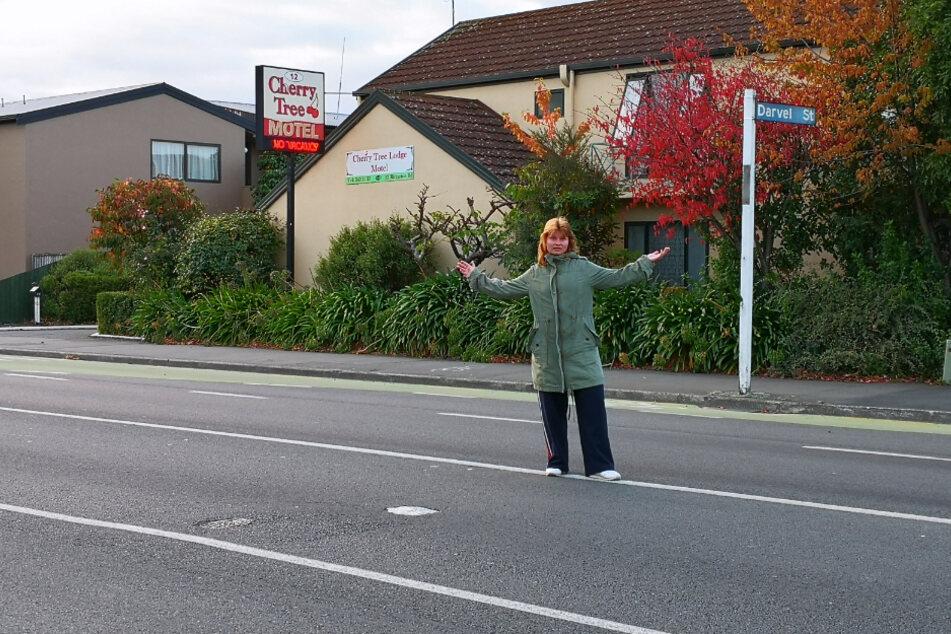 Alexa Tannert fand Unterschlupf in einem kleinen Hostel in Christchurch, der größten Stadt auf Neuseelands Südinsel.
