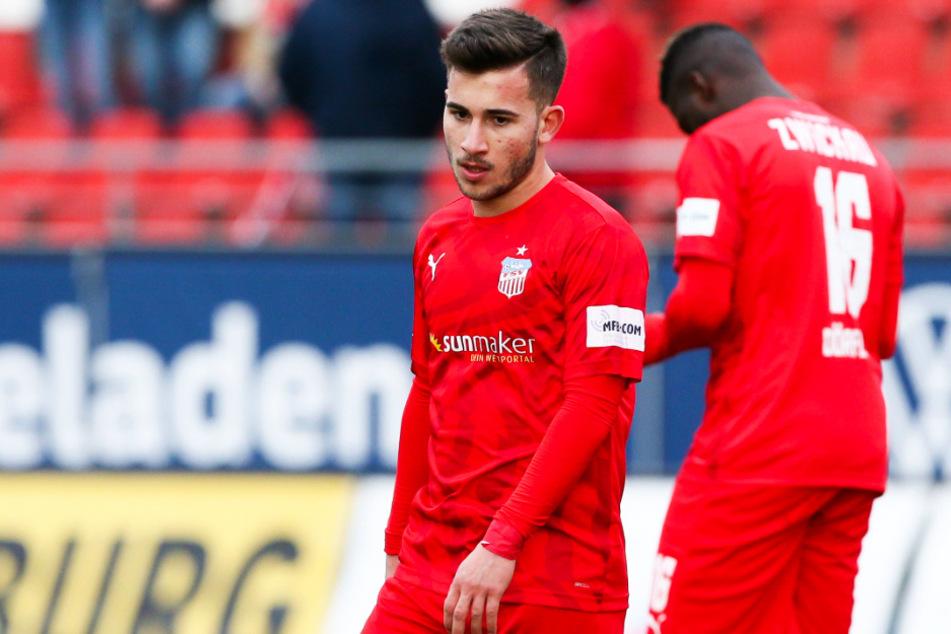 Der FSV Zwickau steht nach dem 27. Spieltag auf dem ersten Abstiegsplatz 17.