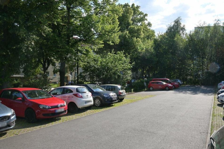 Diese Stadtfläche an der Ecke Kanzlerstraße/ Walter-Oertel-Straße war für das Parkhaus im Gespräch. Es bleibt bei einem Car-Sharing-Punkt.