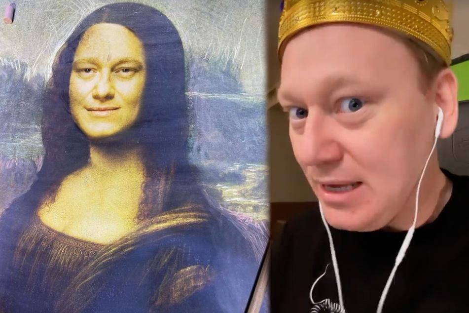 Knossi begeistert als Mona Lisa so gut wie alle, nur nicht Sophia Thomalla