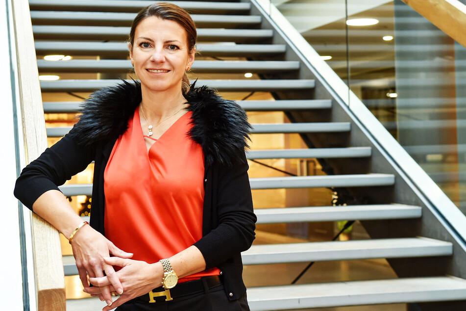 Andrea Knabe (44), Centermanagerin der QF-Passage, hat sich viel einfallen lassen, damit die Kunden kommen.