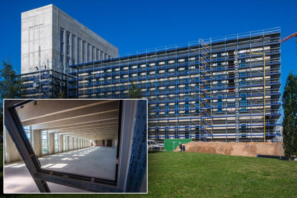 Bauarbeiten gehen voran: So modern wird der neue Uni-Campus in Freiberg