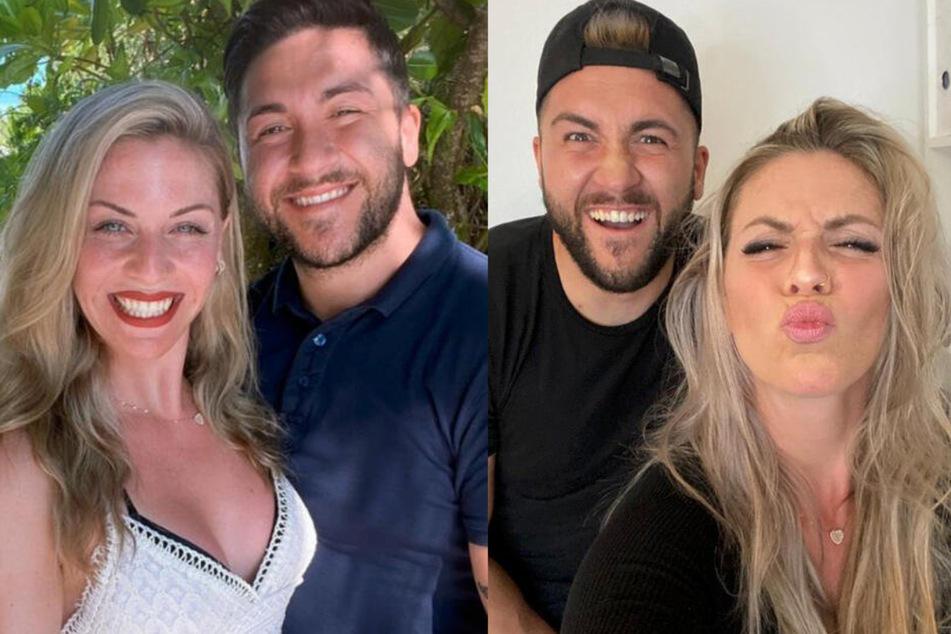 """Mehmet (29) und Sabrina (28) verliebten sich in der Dating-Show """"5 Senses for Love""""."""
