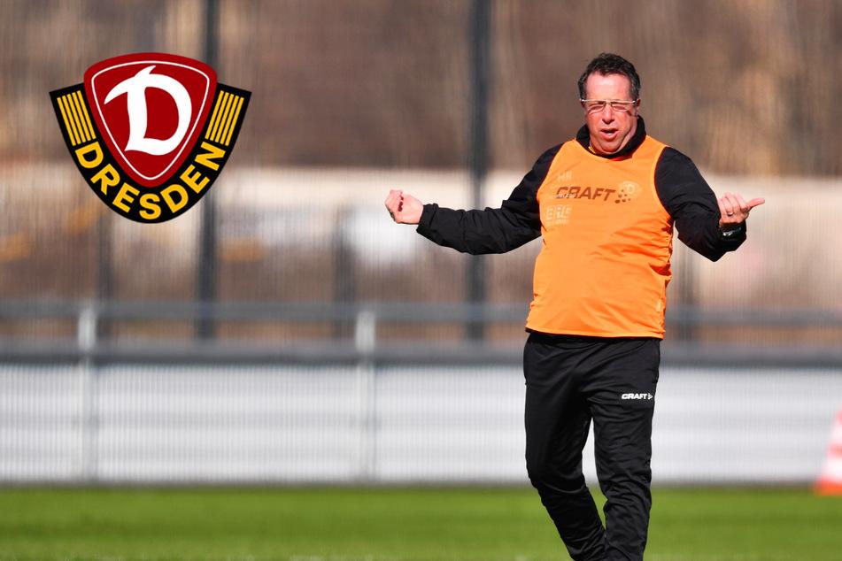 """Dynamo-Coach Kauczinski zu den 777 Zuschauern bei Hansa: """"Ein Silberstreif"""""""