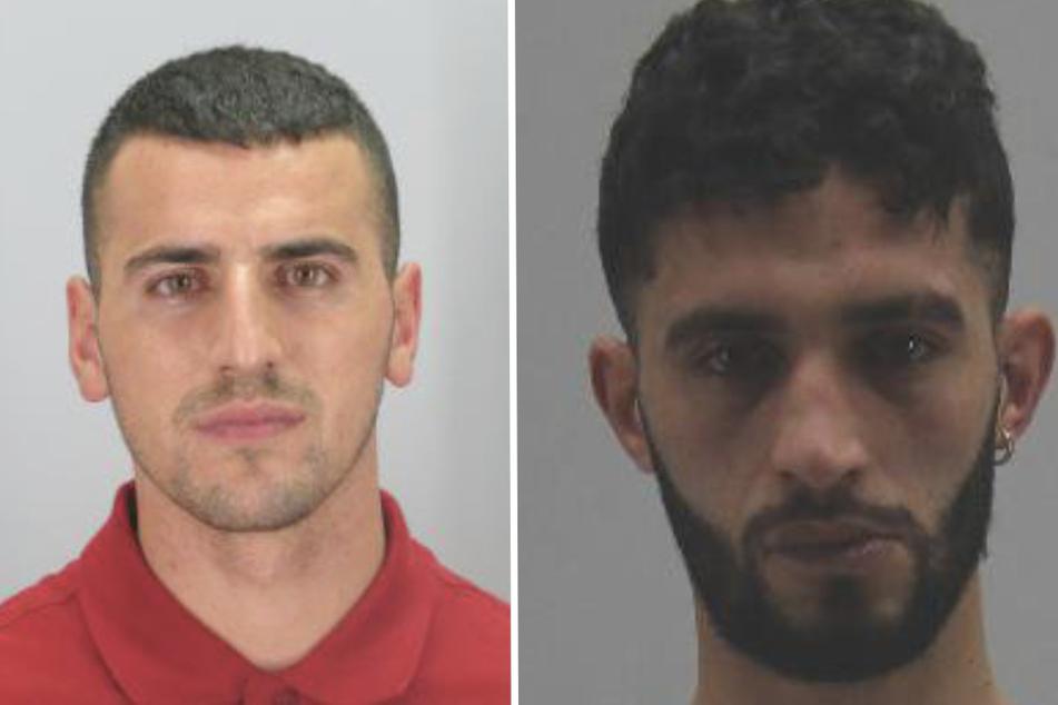 Mekail Ademi (28, l.) und Yousef Cherif (24).