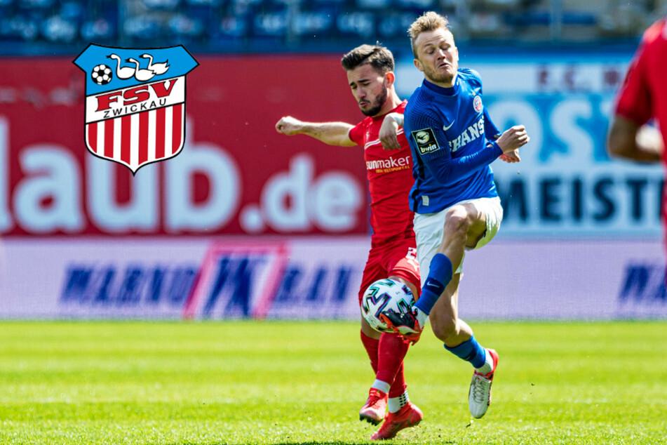 FSV Zwickau erkämpft wichtigen Punkt bei Aufstiegskandidat Hansa Rostock