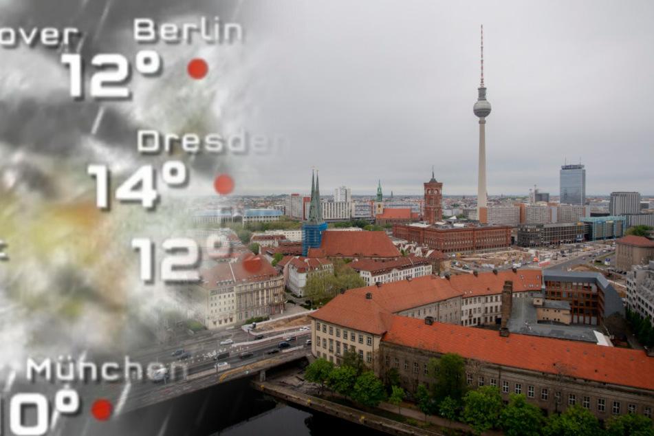 In Berlin soll es ab Mittwochnachmittag nass werden.