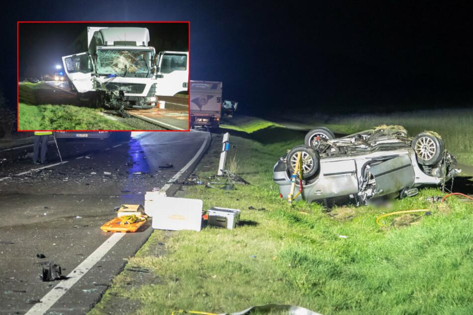 Horror-Crash im Erzgebirge: 36-Jähriger tödlich verunglückt