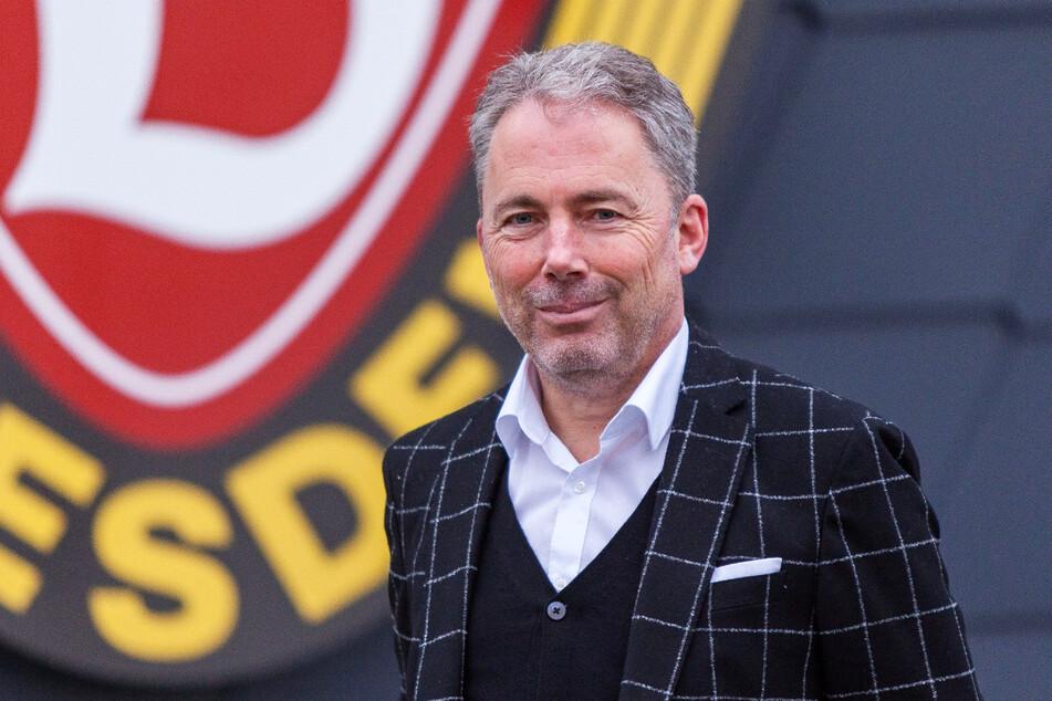 Dynamos kaufmännischer Geschäftsführer Jürgen Wehlend (55) ist mit den Ergebnissen in seinen ersten sechs Monaten Amtszeit zufrieden, sieht den Verein für die kommende Zweitliga-Saison gut aufgestellt.