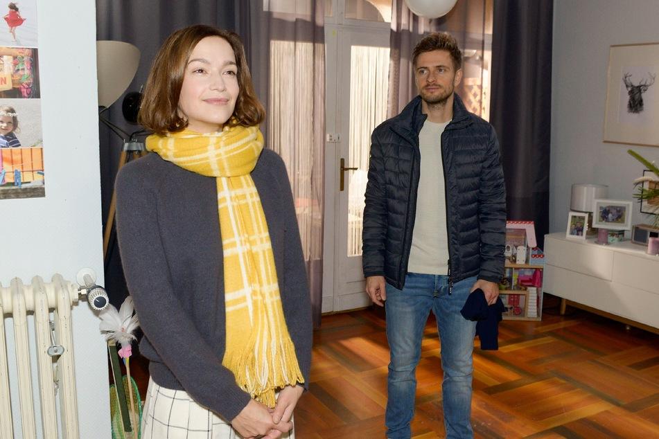 """Uta Kargel ist für zwei GZSZ-Folgen wieder in die Rolle der """"Lena Bachmann"""" geschlüpft."""