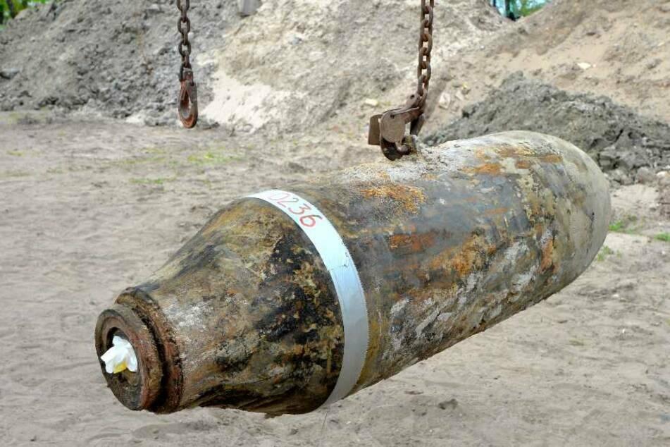250-Kilo-Weltkriegsbombe in Grünheide wird entschärft!