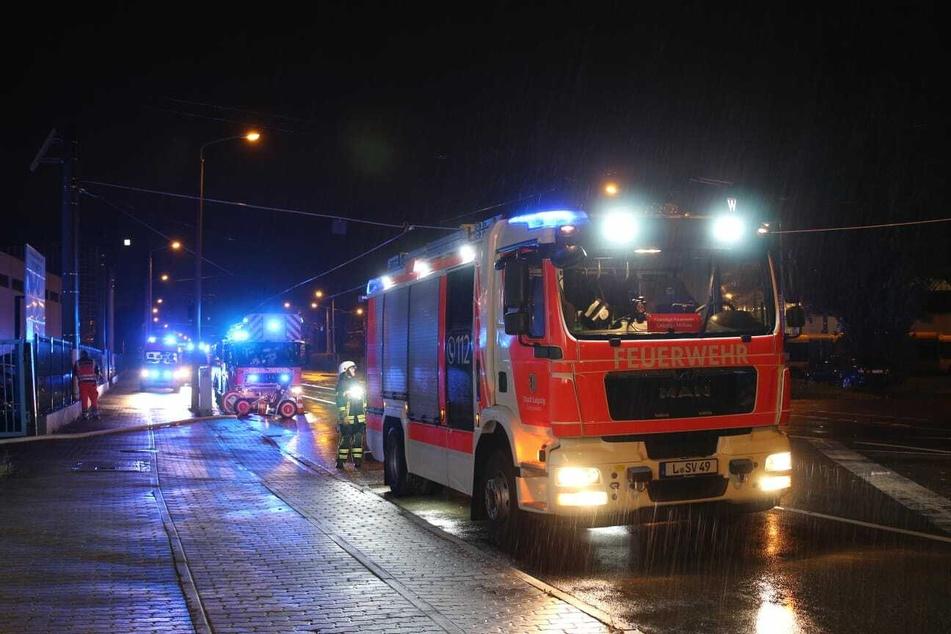 Die Feuerwehr war mit rund 30 Einsatzkräften vor Ort.