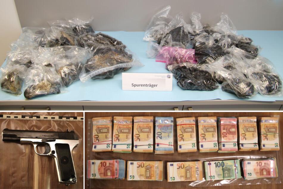 Kiloweise Opium! Polizei entdeckt einen der bisher größten Drogenfunde in Bayern