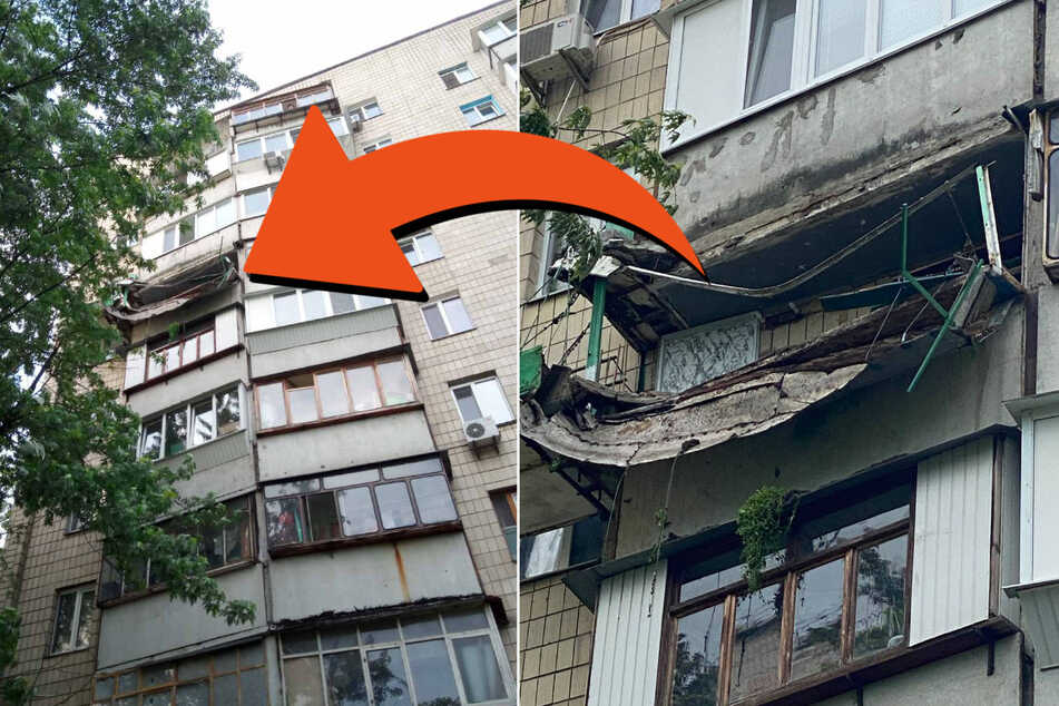 Caution, falling fruit! Balcony collapses after urban gardening project goes wrong