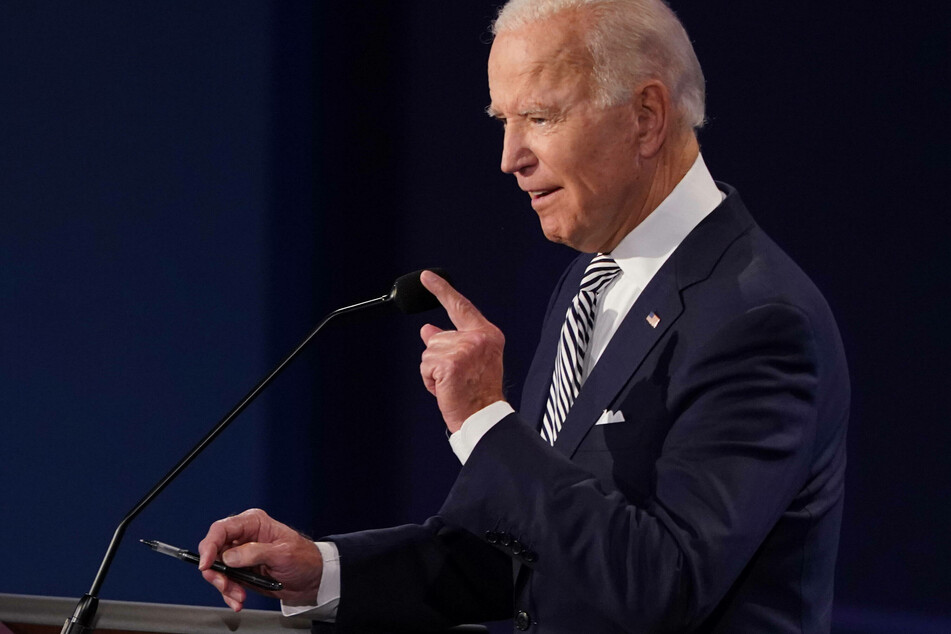 """""""You are the worst president America has ever had,"""" Democratic candidate Biden told Trump."""