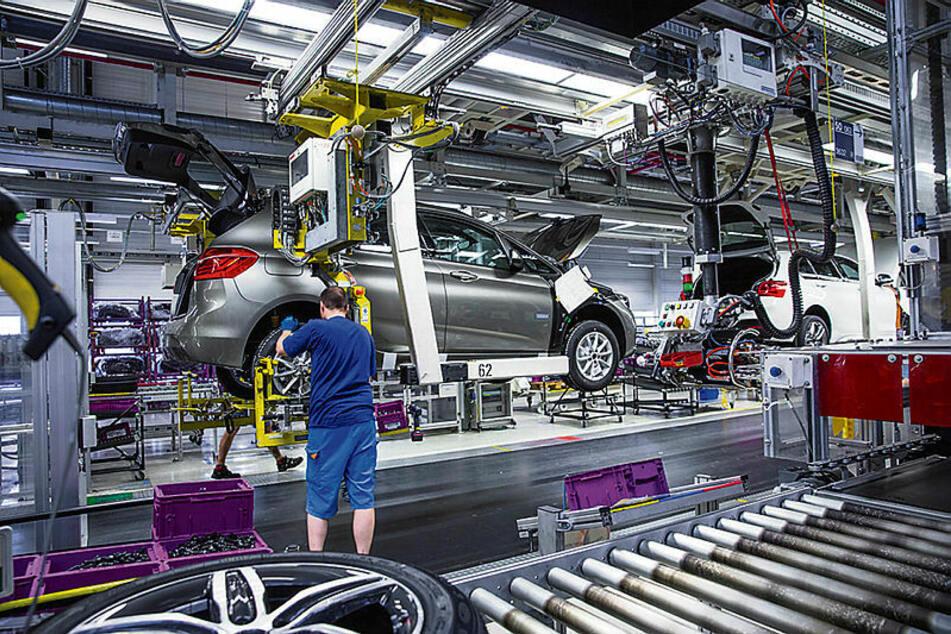 Bereits seit 2013 läuft in Leipzig der BMW i.3 vom Band - derzeit täglich 120 Stück.