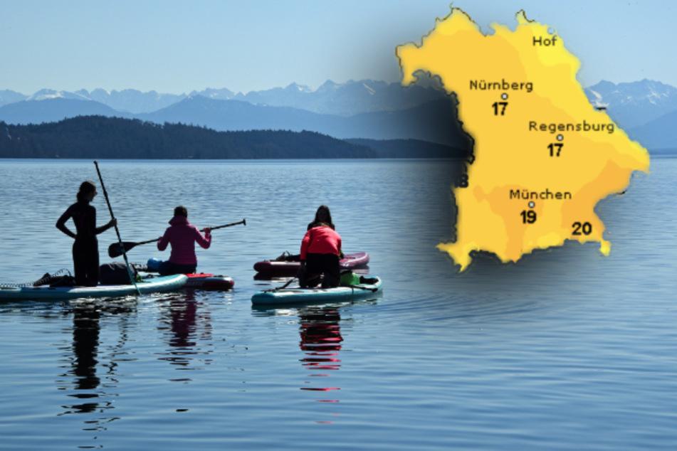 Frühlingshaft warm! So wird das Wetter in Bayern