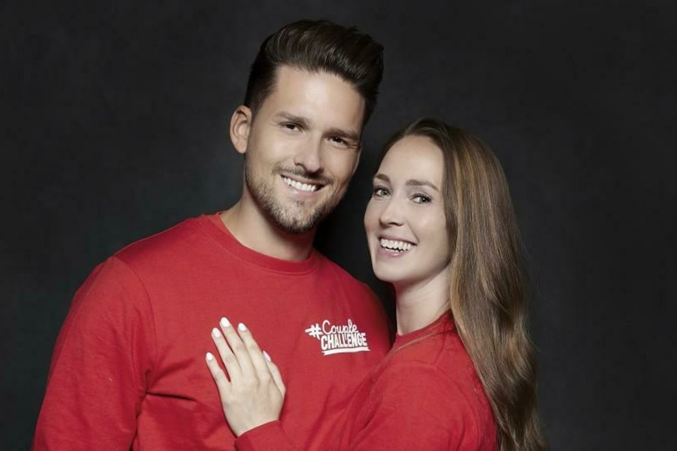 Marco Cerullo und Christina Grass nehmen an #CoupleChallenge teil.
