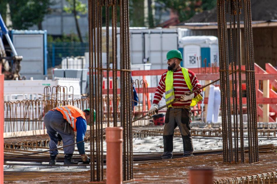 Die Bauarbeiten für die Gasmotoren-Heizkraftwerke Nord und Altchemnitz laufen schon auf vollen Touren.
