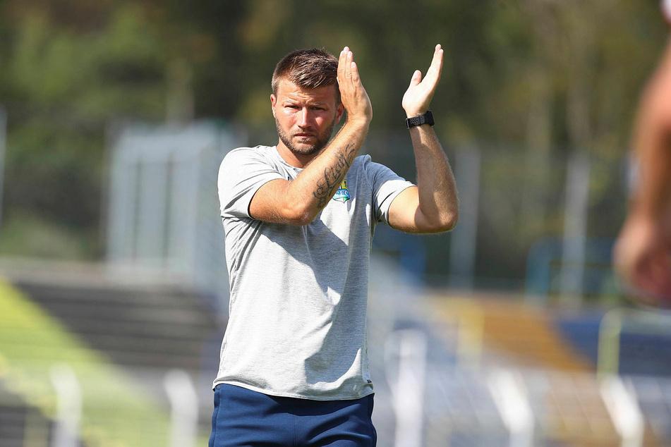 CFC-Coach Daniel Berlinski war zufrieden mit dem Auftritt seiner Mannschaft.