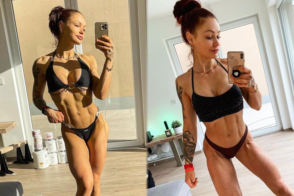 Fitness-Influencerin LeaLovesLifting (25) zeigt sich auf Instagram regelmäßig in knappen Outfits, um ihren trainierten Körper zu präsentieren.