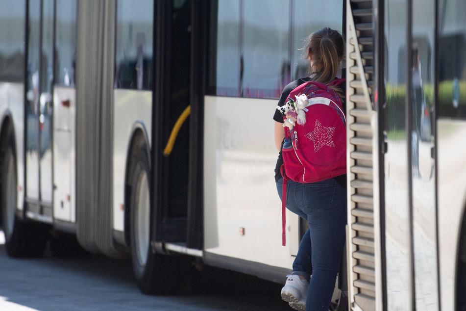 Trennscheiben sollen Busfahrer vor dem Coronavirus schützen. (Symbolbild)
