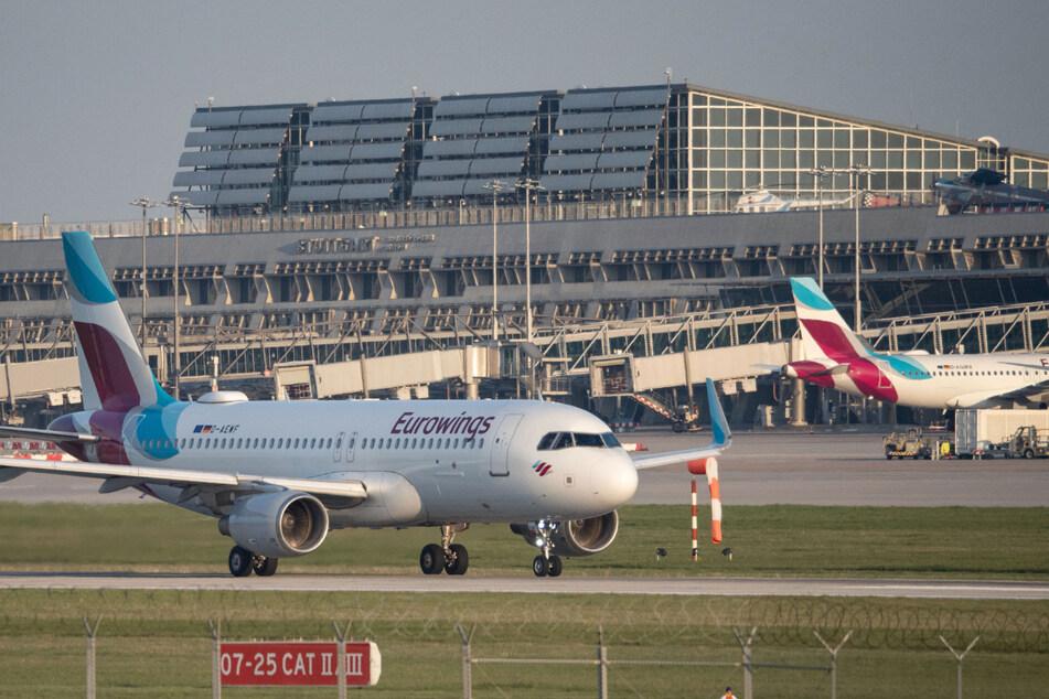 Der Stuttgarter Flughafen bekommt die Coronakrise sehr deutlich zu spüren.