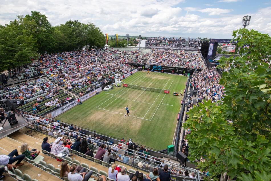 Das Finale des ATP-Turniers am Stuttgarter Weißenhof im Juni 2019.